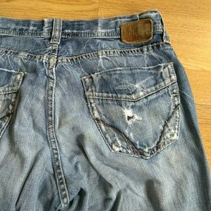 BKE Buckle mens 34 x 32 Distressed Jeans